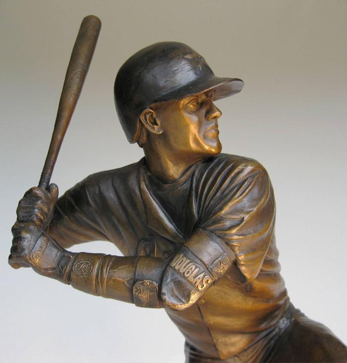 Craig Biggio Award 2000 Hits Upper Detail
