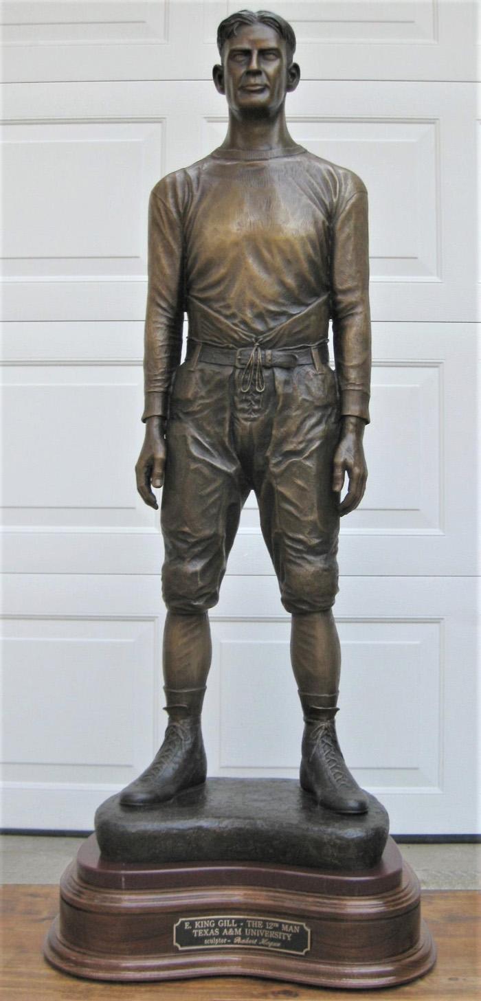 Texas A&M 12th Man - E. King Gill